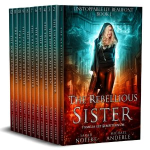Cover for Unstoppable Liv Beaufont Complete Series Boxed Set