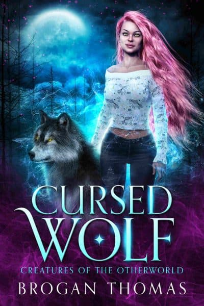 Cover for Cursed Wolf