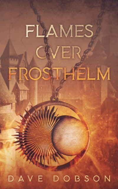 Cover for Flames over Frosthelm