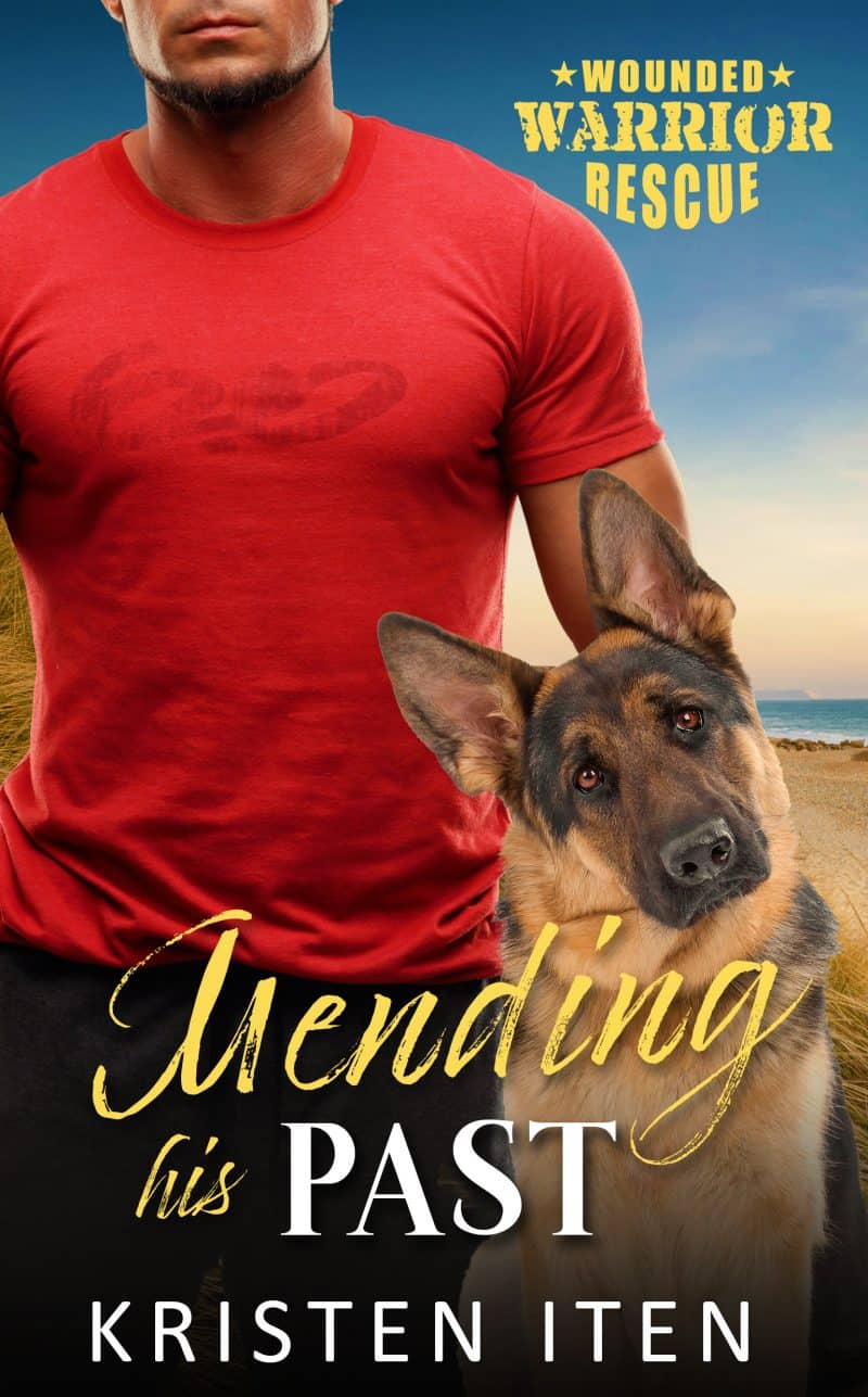 Cover for Mending His Past: Wounded Warriors Rescue: Second Chance Romance in Liberty Cove