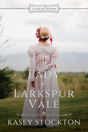 Cover for The Lady of Larkspur Vale