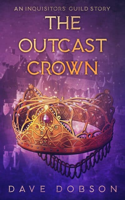 Cover for The Outcast Crown