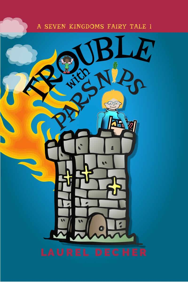 Cover for Trouble with Parsnips