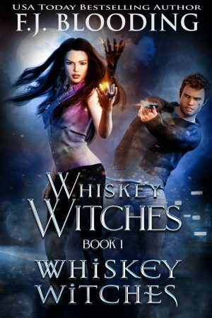 Cover for Whiskey Witches