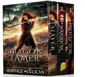 Cover for Dragon Tamer Complete Series