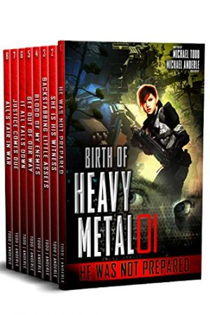 Cover for Birth of Heavy Metal Complete Boxed Set (Books 1-8)