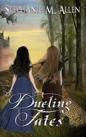 Cover for Dueling Fates
