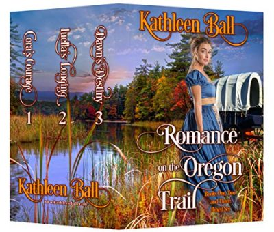 Cover for Romance on the Oregon Trail books 1-3