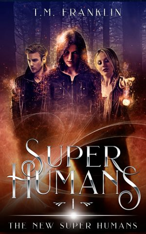Cover for Super Humans