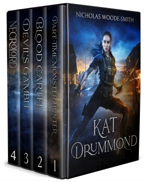 Cover for The Kat Drummond Collection Box-Set (Books 1-4)