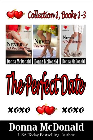 Cover for The Perfect Date, Collection 1, Books 1-3