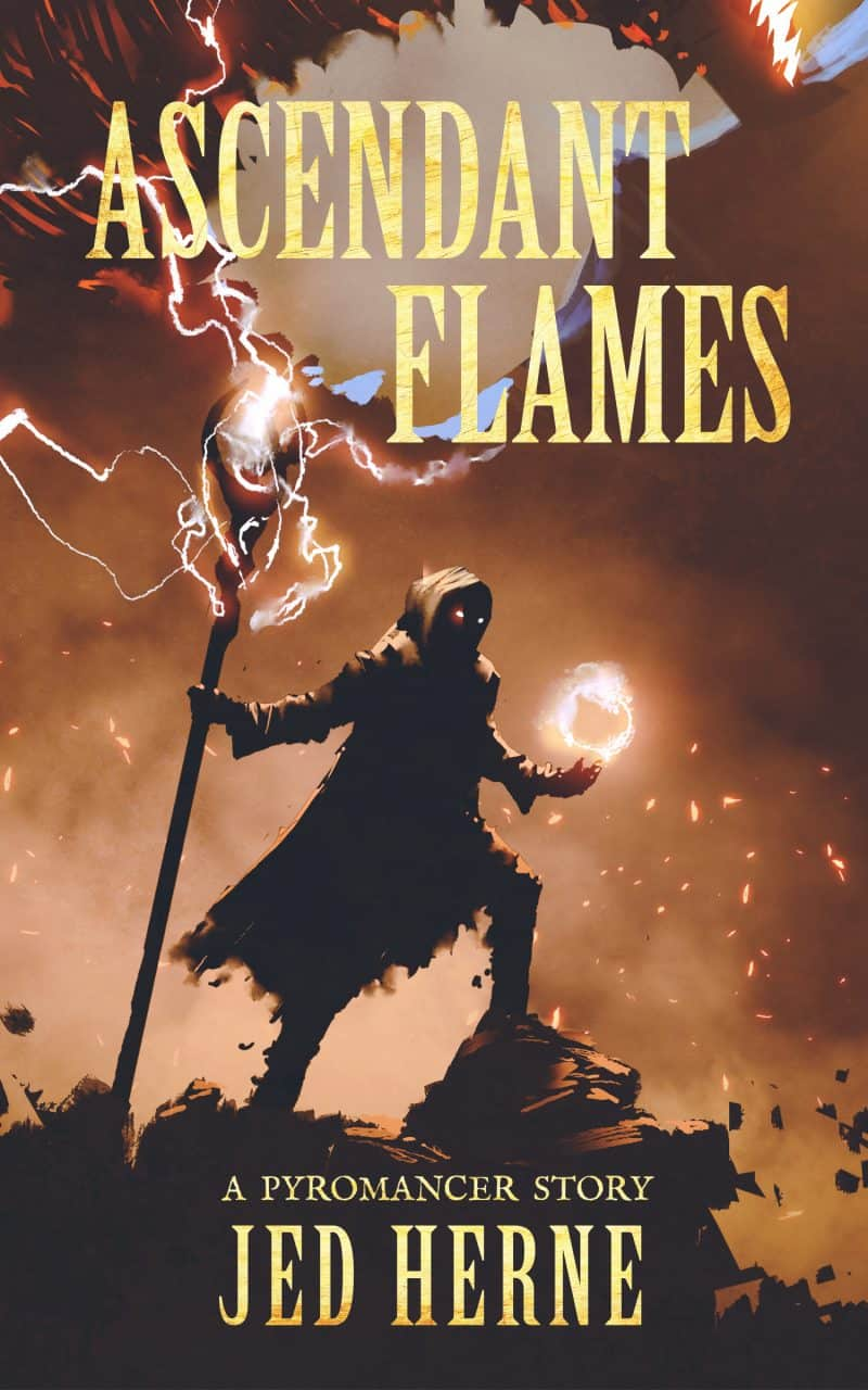 Cover for Ascendant Flames: A Fires of the Dead Prequel