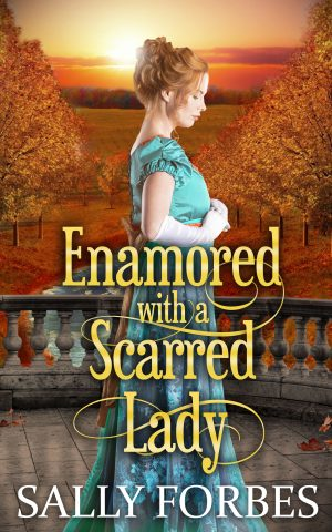 Cover for Enamored with a Scarred Lady