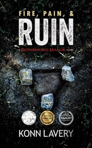 Cover for Fire, Pain & Ruin