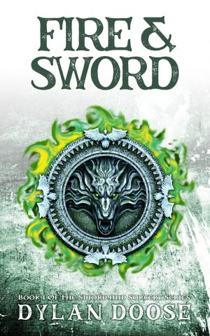 Cover for Fire and Sword