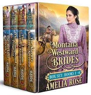 Cover for Montana Westward Brides: Books 1-4