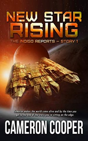 Cover for New Star Rising