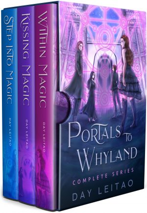 Cover for Portals to Whyland