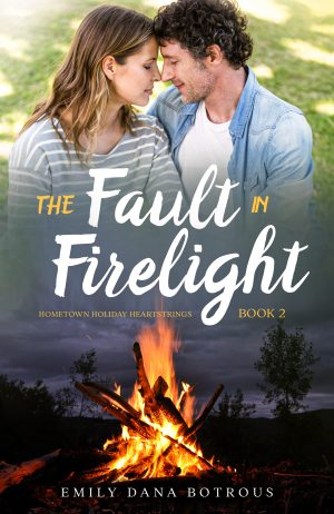 Cover for The Fault in Firelight