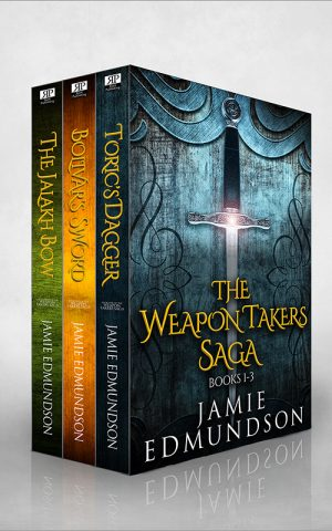 Cover for The Weapon Takers Saga Books 1-3