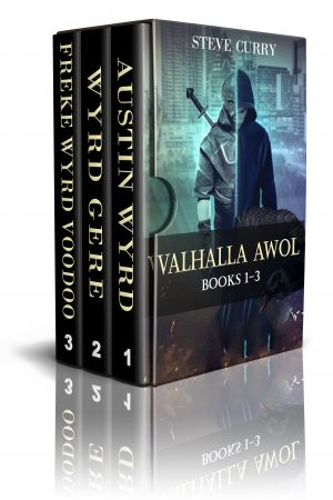 Cover for Valhalla AWOL Novels One Thru Three
