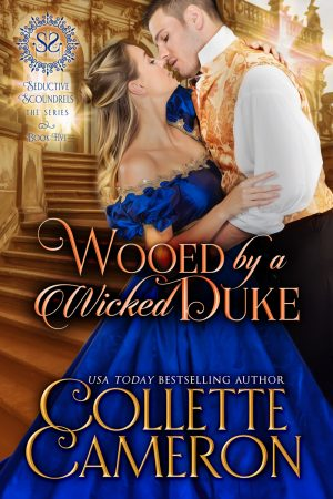 Cover for Wooed by a Wicked Duke