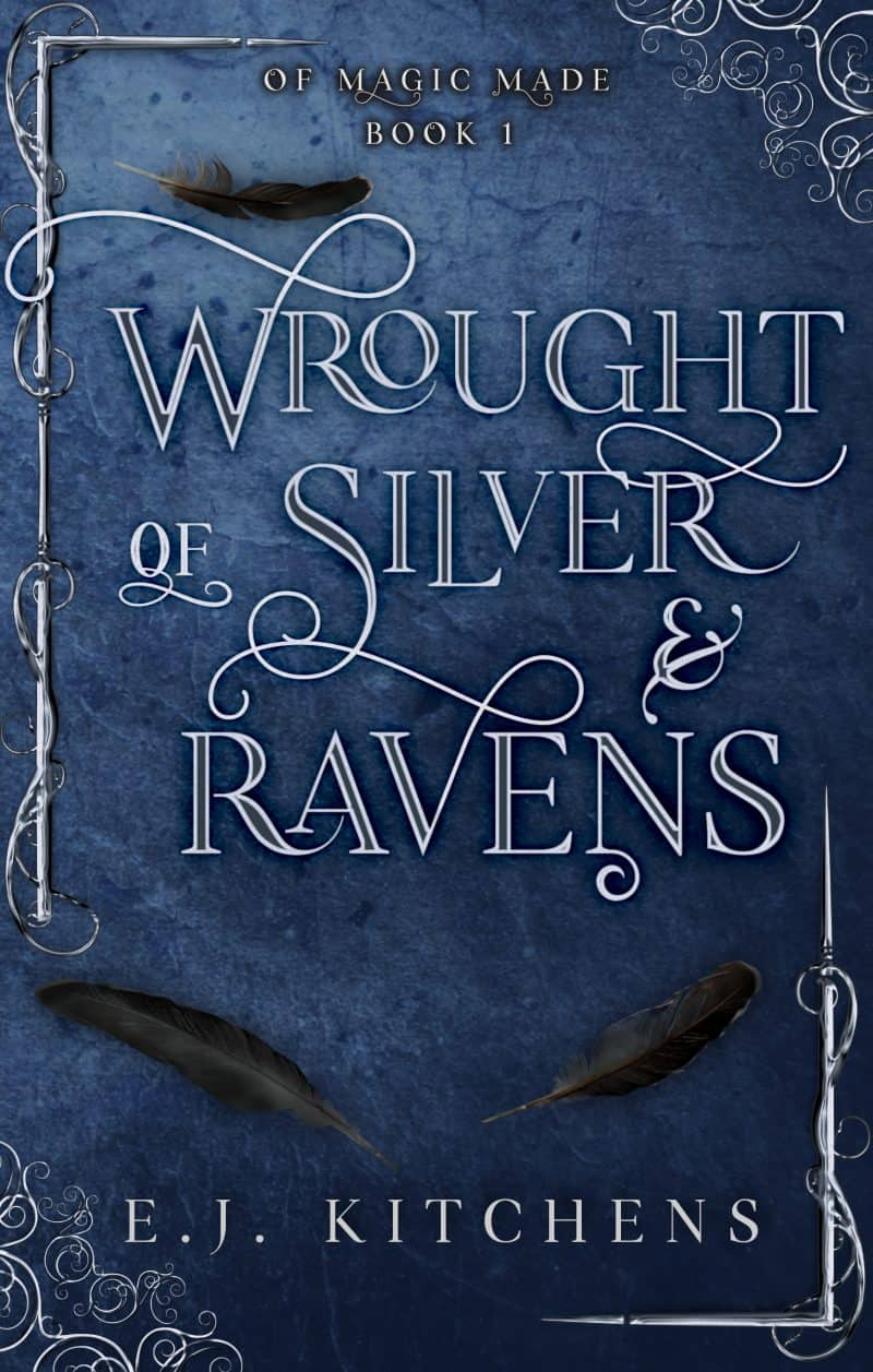 Cover for Wrought of Silver and Ravens
