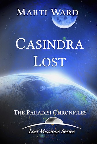 Cover for Casindra Lost: Paradisi Chronicles
