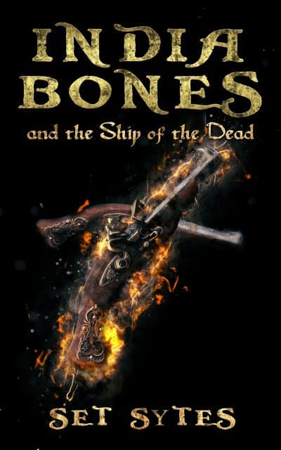 Cover for India Bones and the Ship of the Dead