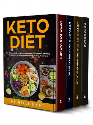 Cover for Keto Diet: 4 Books in 1