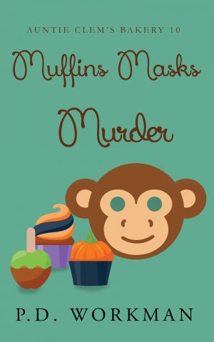 Cover for Muffins Masks Murder