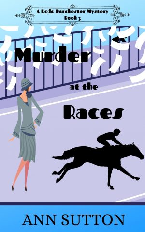 Cover for Murder at the Races