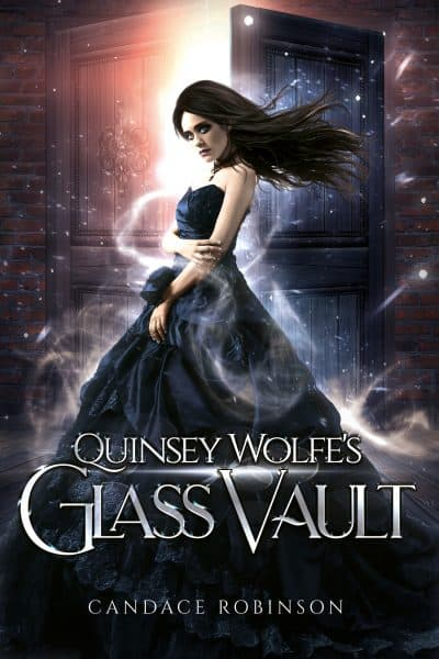 Cover for Quinsey Wolfe's Glass Vault