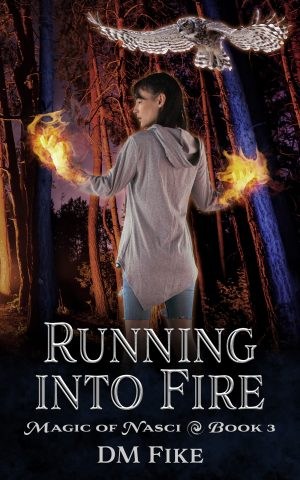 Cover for Running into Fire