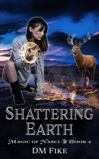 Cover for Shattering Earth