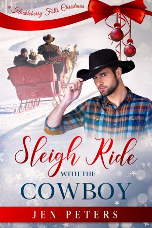 Cover for Sleigh Ride with the Cowboy