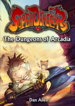 Cover for The Dungeons of Arcadia