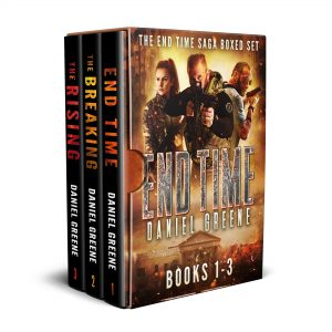 Cover for The End Time Saga Boxed Set, Books 1-3
