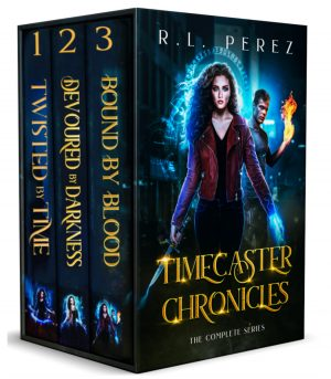 Cover for Timecaster Chronicles, The Complete Series