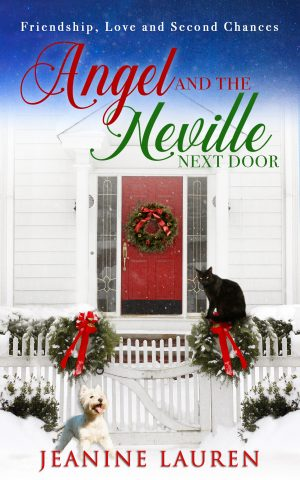 Cover for Angel and the Neville Next Door