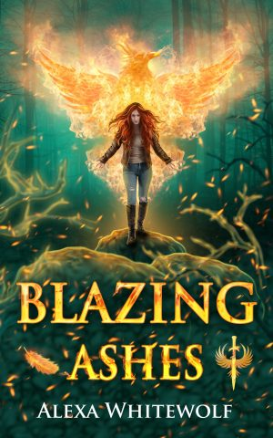 Cover for Blazing Ashes