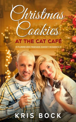 Cover for Christmas Cookies at the Cat Café