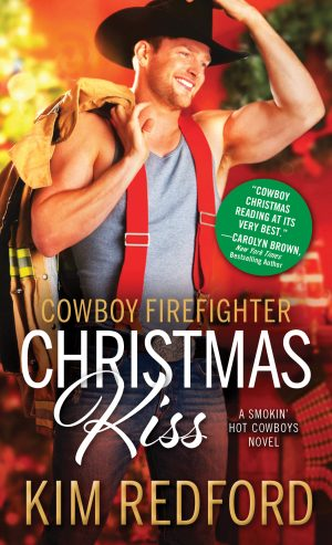 Cover for Cowboy Firefighter Christmas Kiss