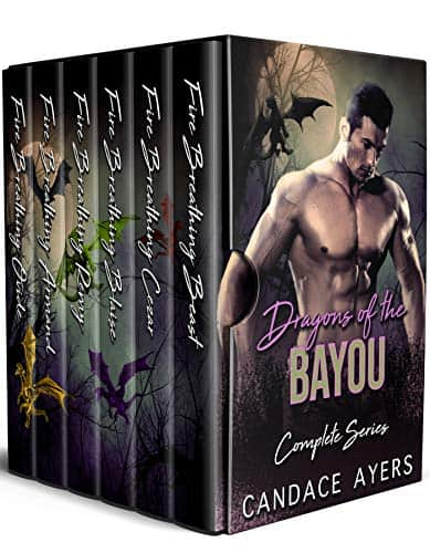 Cover for Dragons of the Bayou Complete Series