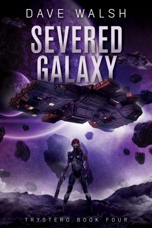 Cover for Severed Galaxy