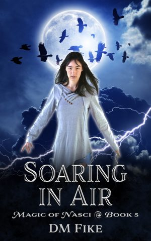 Cover for Soaring in Air