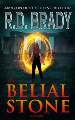 Cover for The Belial Stone