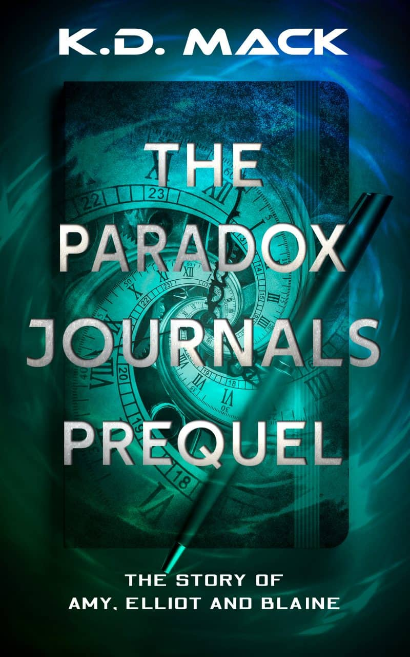 Cover for The Paradox Journals Prequel: The Story of Amy, Elliot and Blaine