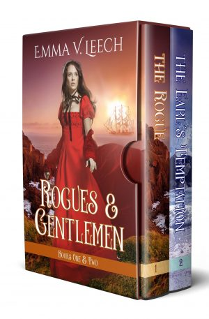 Cover for The Rogue and The Earl's Temptation