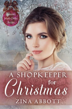 Cover for A Shopkeeper for Christmas